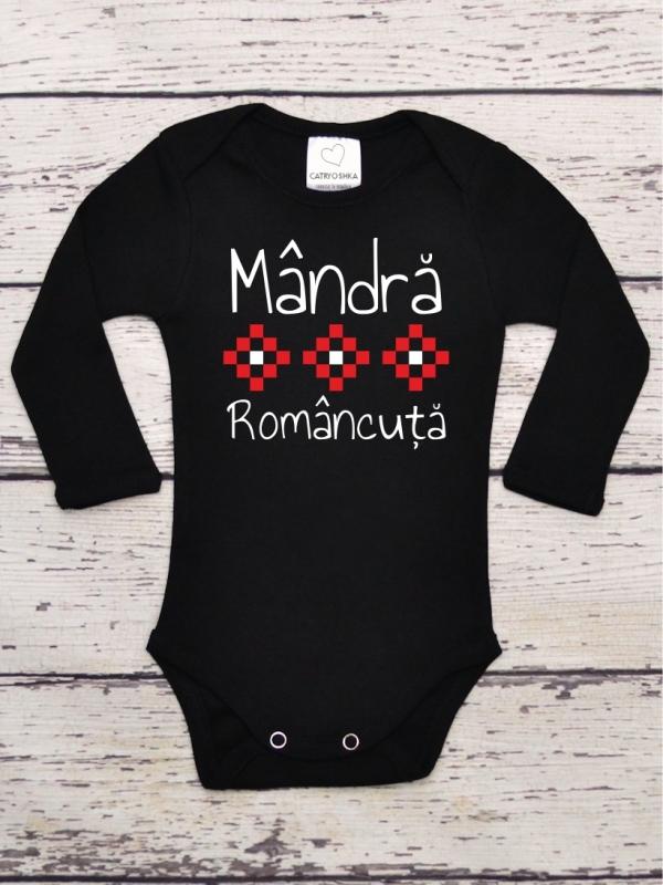 Body Negru Bebelusi Mandra Romancuta