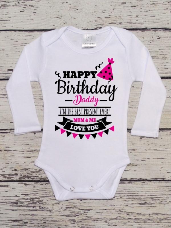 Body Mesaj Happy Birthday, Daddy! Roz