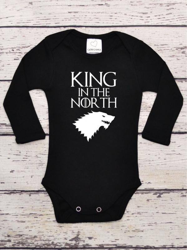 Body Bebelusi cu Mesaj King in The North