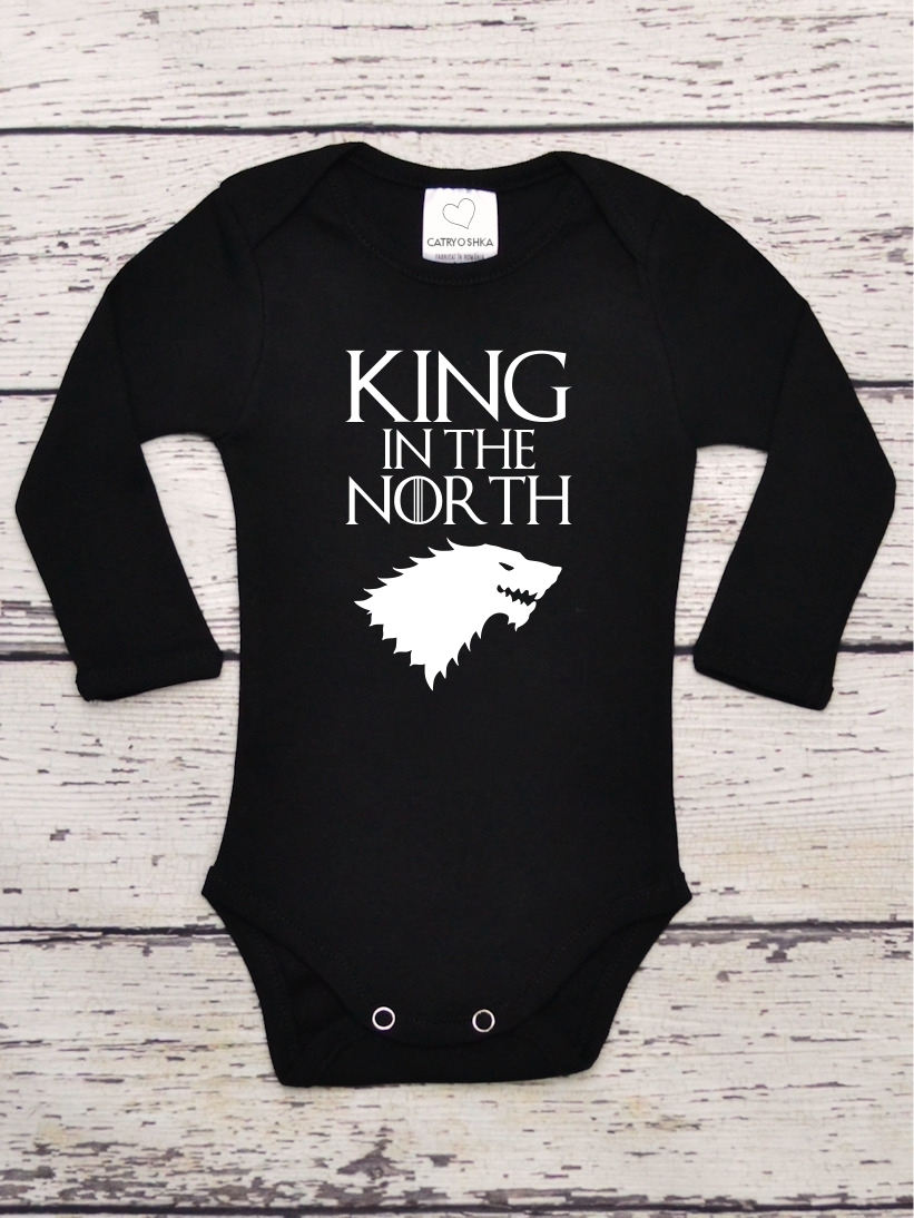 Body Bebelusi cu Mesaj King in The North