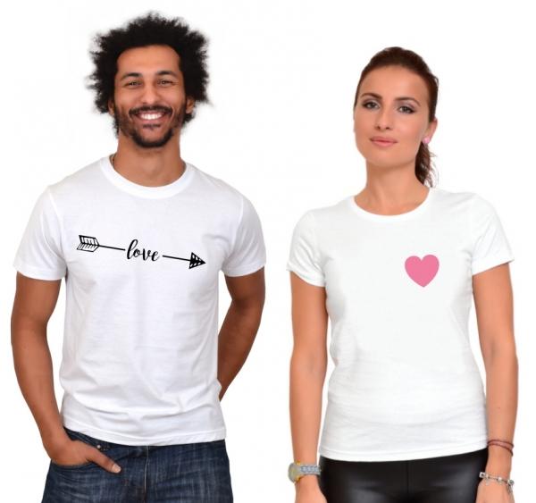 Tricouri Cuplu Love