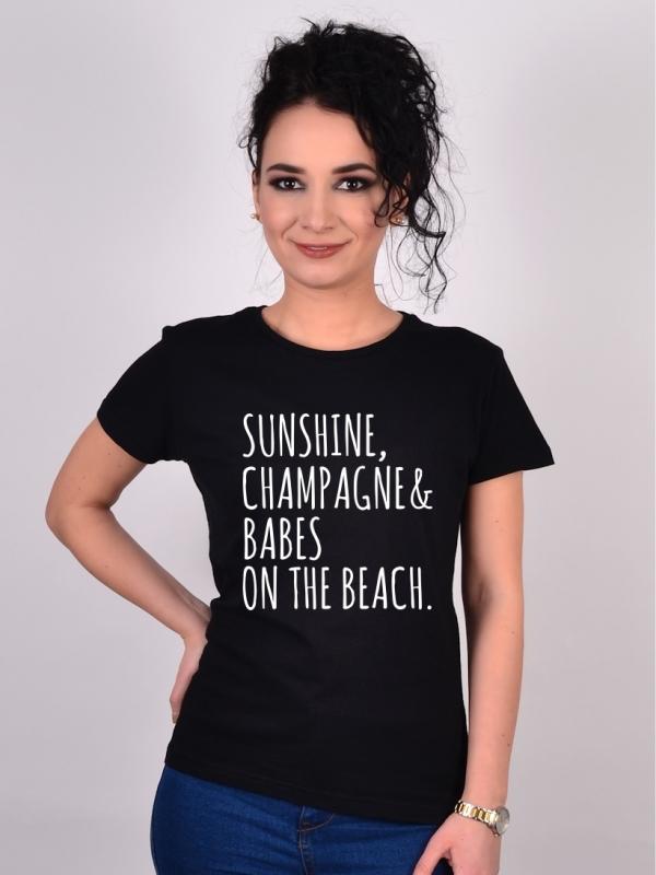 Tricou Burlacite Babes On The Beach