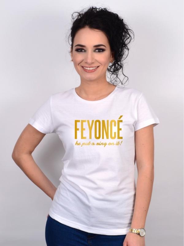Tricou Mireasa Feyonce