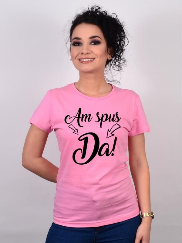 Tricou Mireasa Am spus DA!