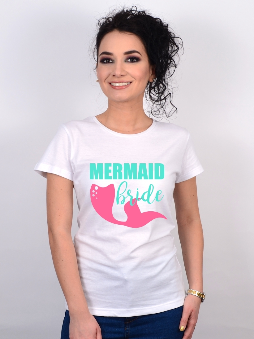 Tricou Mireasa Mermaid Bride