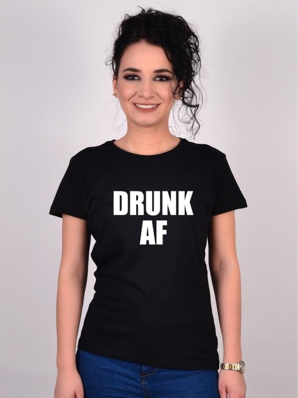 Tricou Petrecerea Burlacitelor Drunk AF