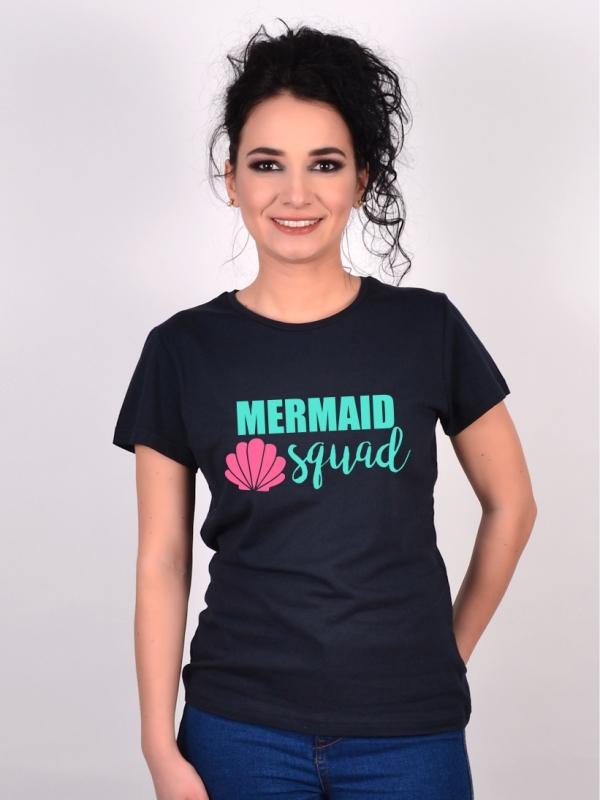 Tricou Burlacite Mermaid Squad