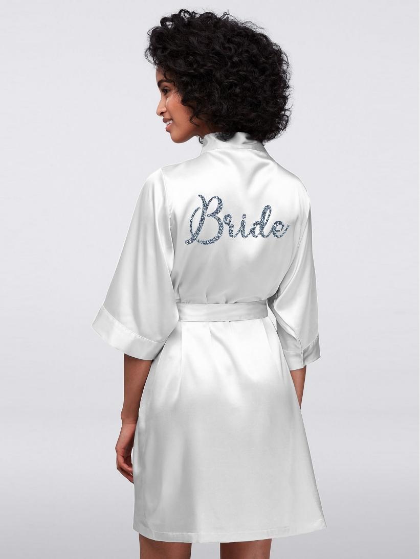 Halat Bride Glitter Argintiu