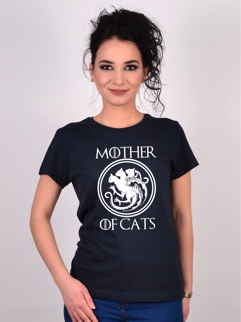 Tricou cu Pisici Mother Of Cats