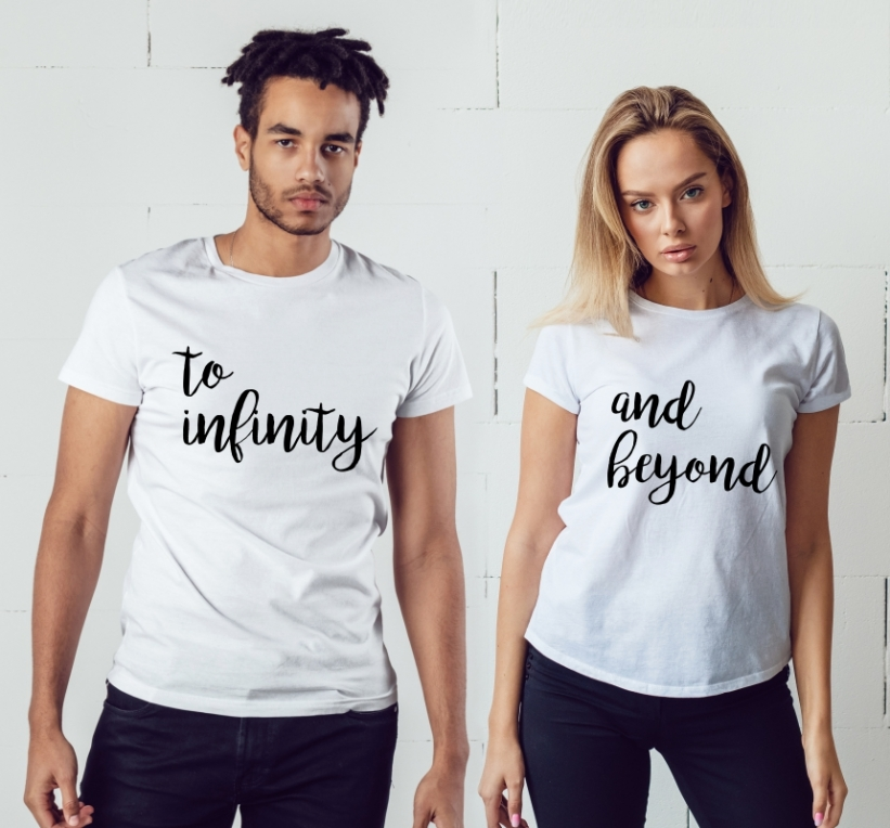 Tricouri Cuplu To Infinity and Beyond