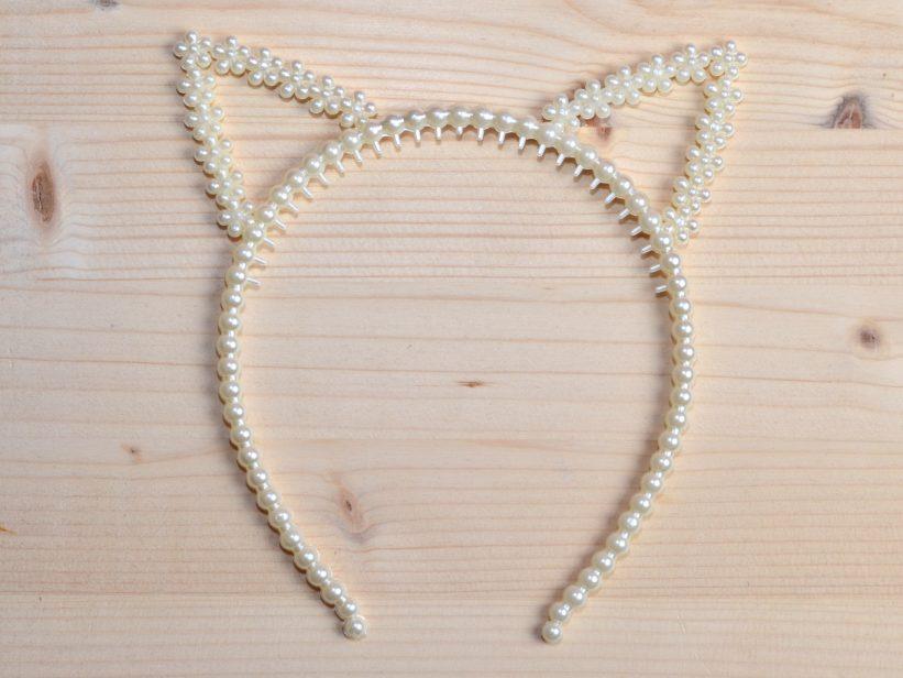 Coronita Urechi de Pisica cu Perle