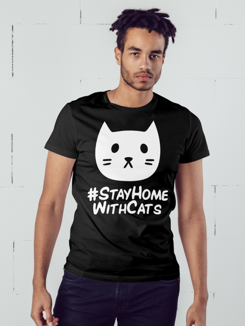 Tricou Barbati #STAYHOME