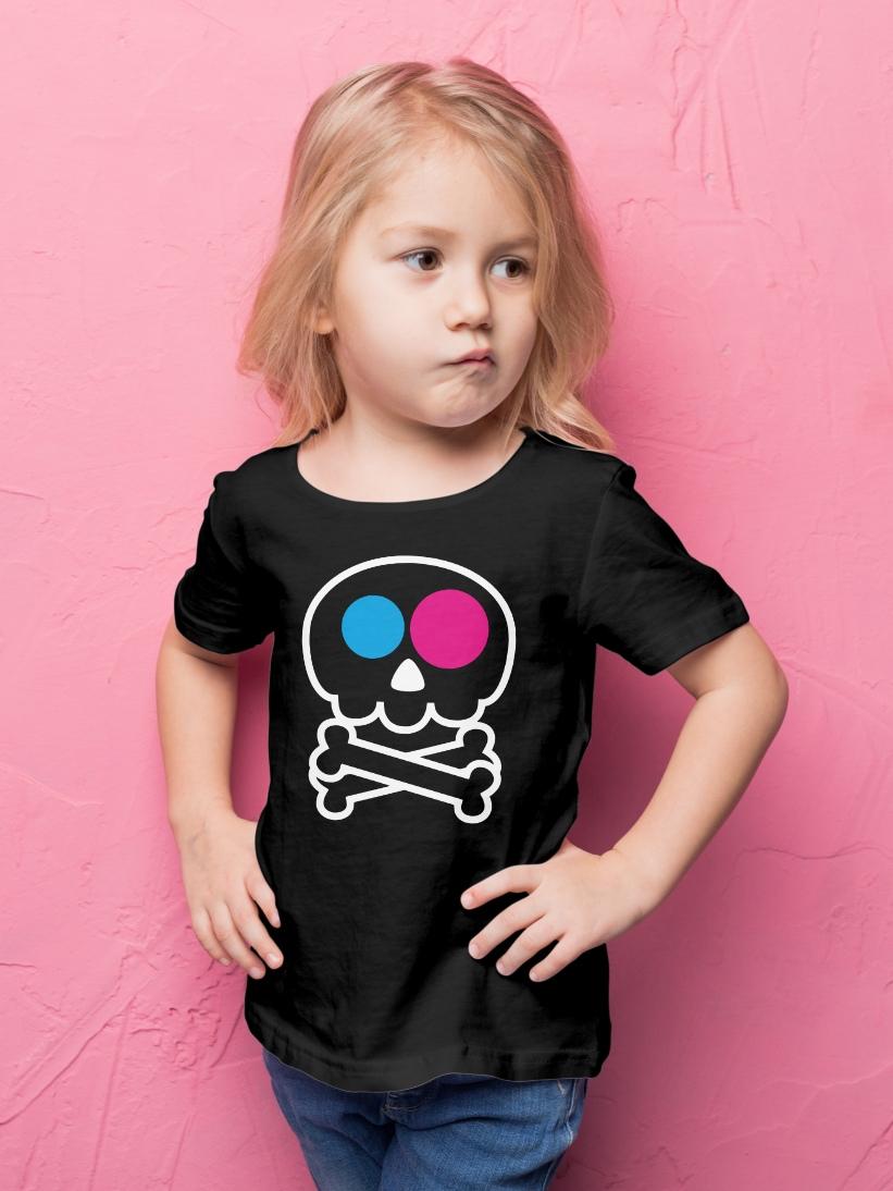 Tricou Copii Craniu Haios