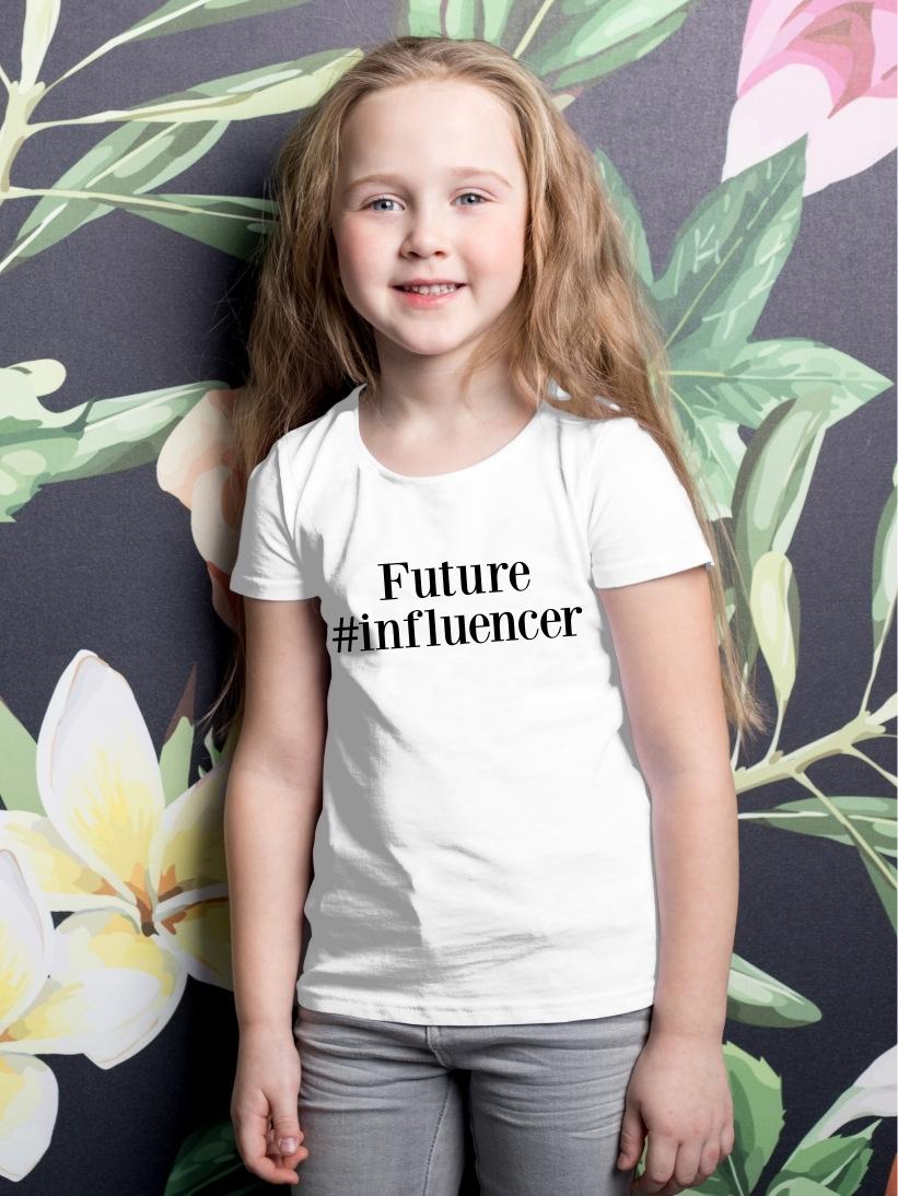 Tricou Copii cu Mesaj Future #Influencer