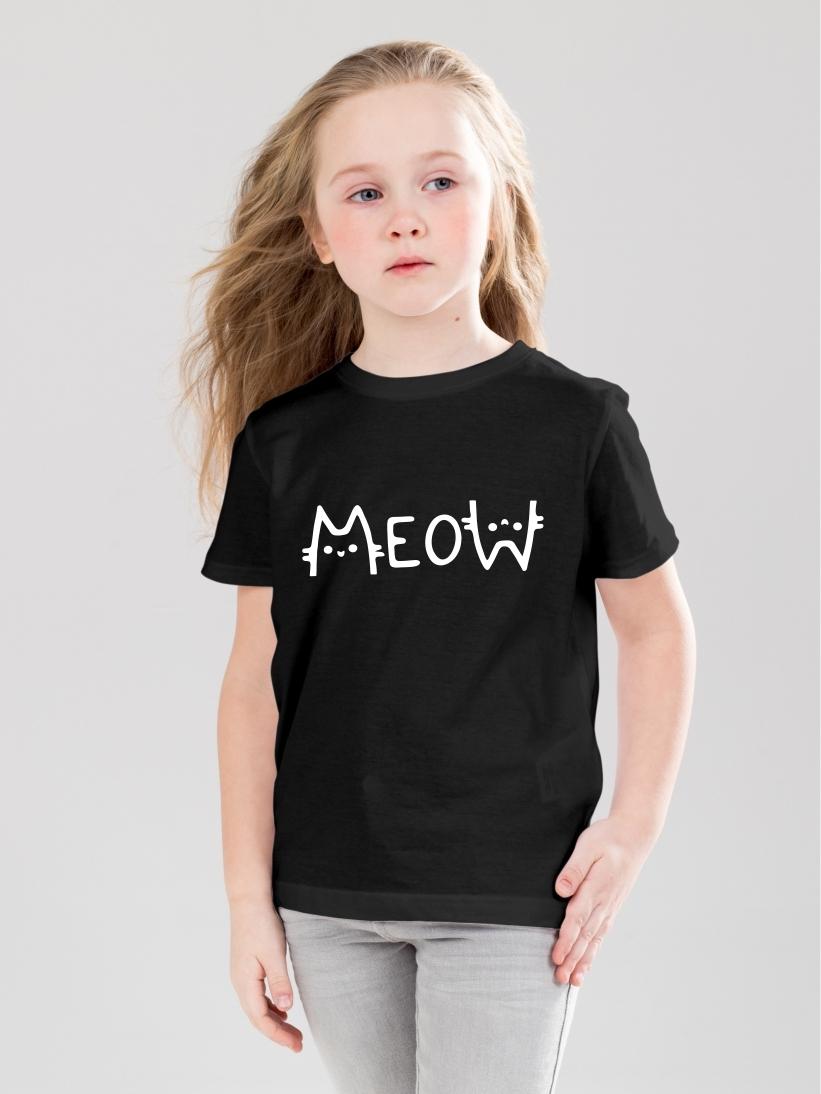 Tricou Copii Meow