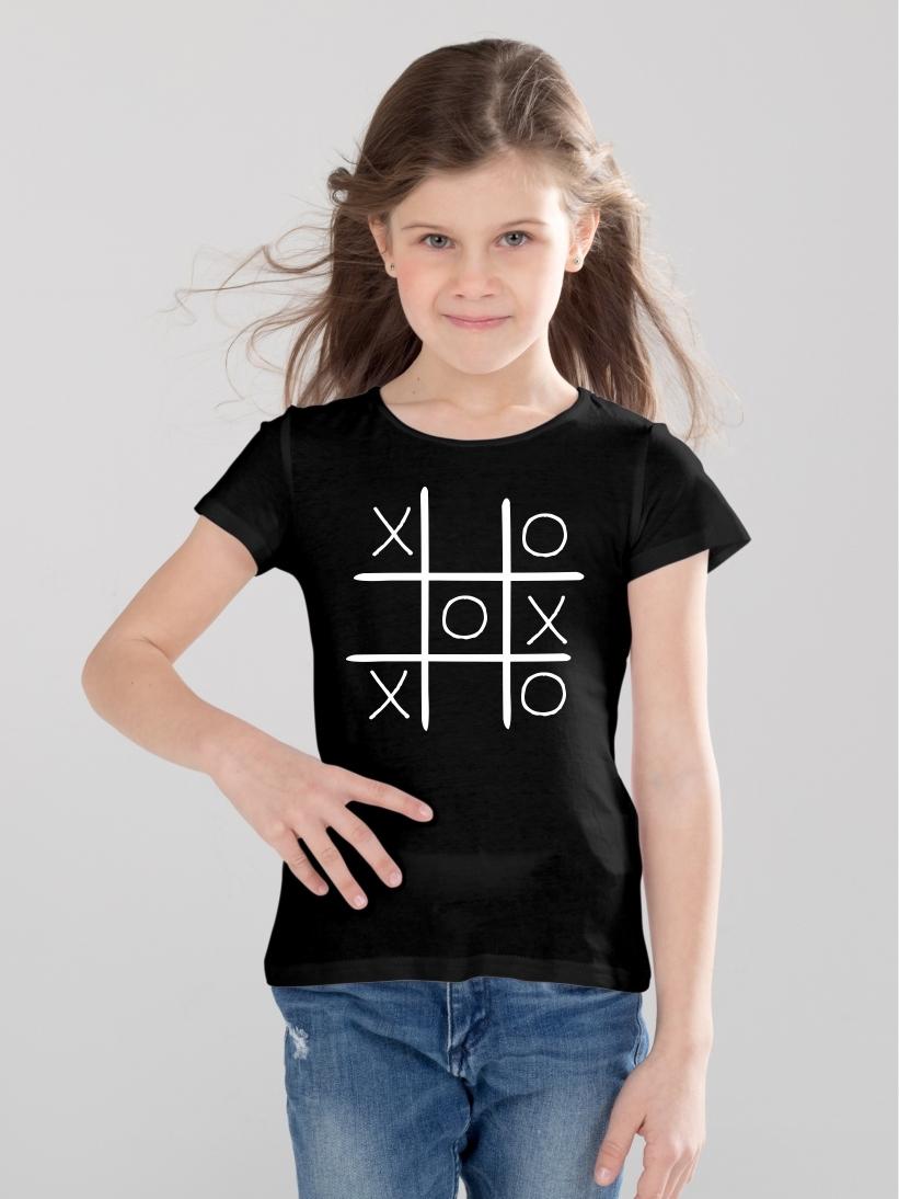 Tricou Copii X si 0
