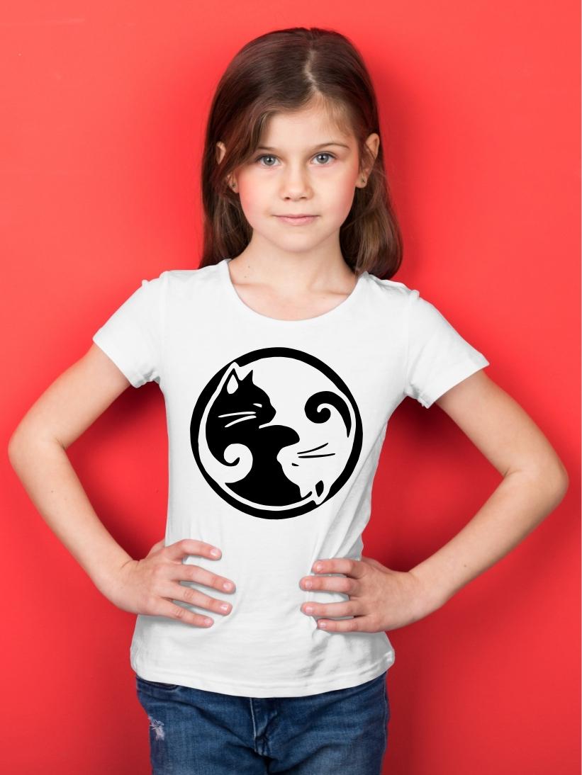 Tricou Copii Yin si Yang