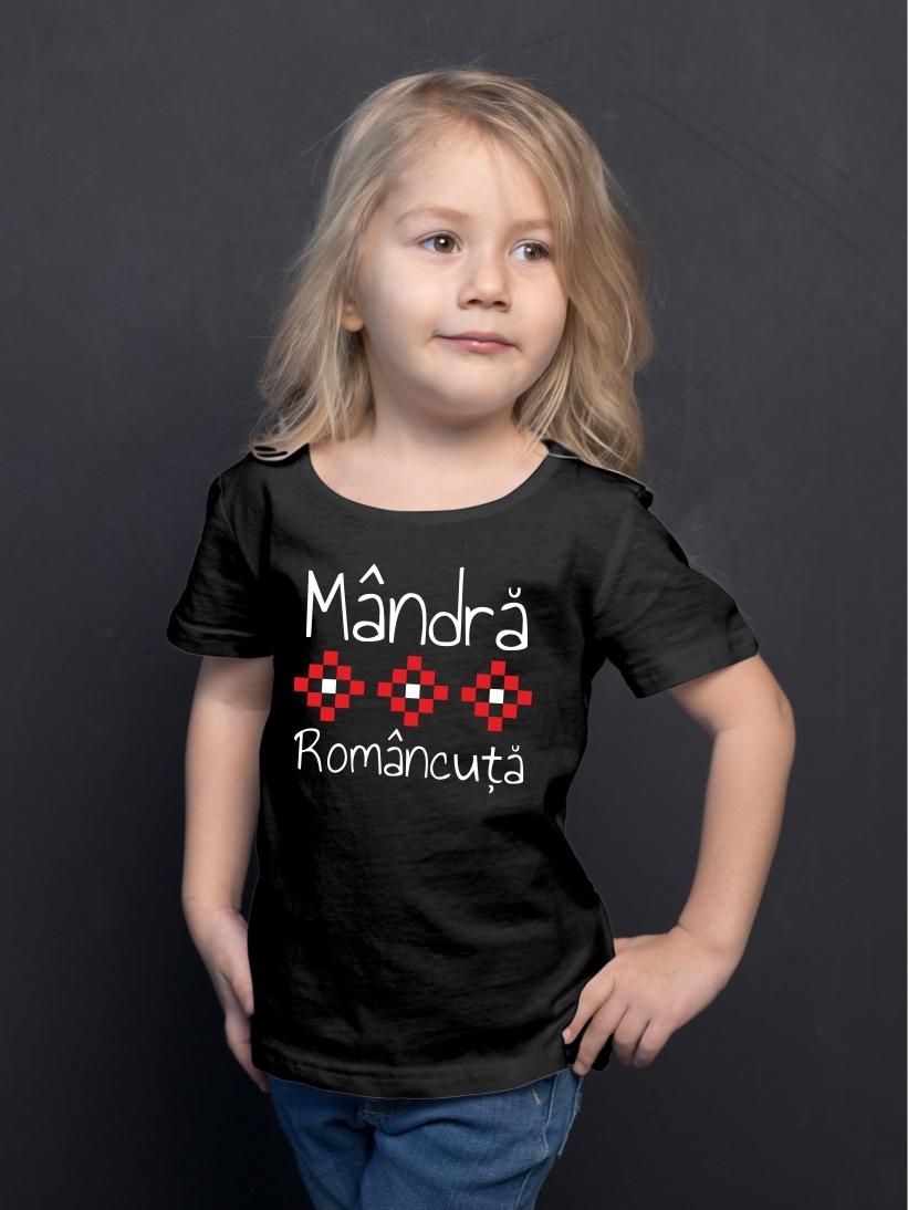 Tricou Copii Mandra Romancuta