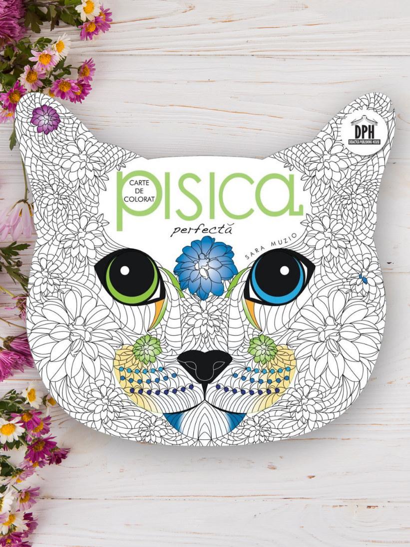 Pisica Perfectă - Carte de Colorat - Sara Muzio