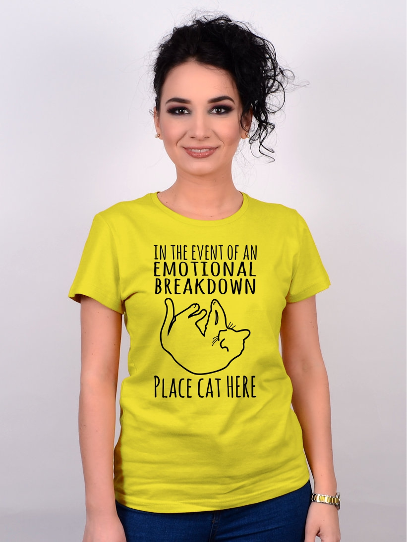 Tricou Pisica Place Cat Here