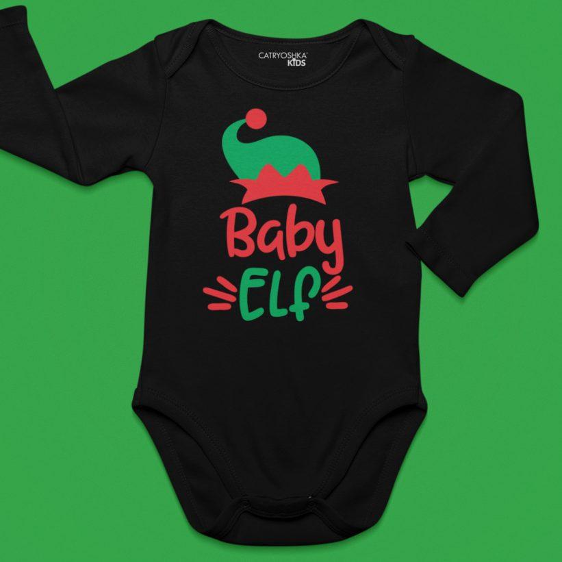 Body Copii Cu Mesaj Baby Elf