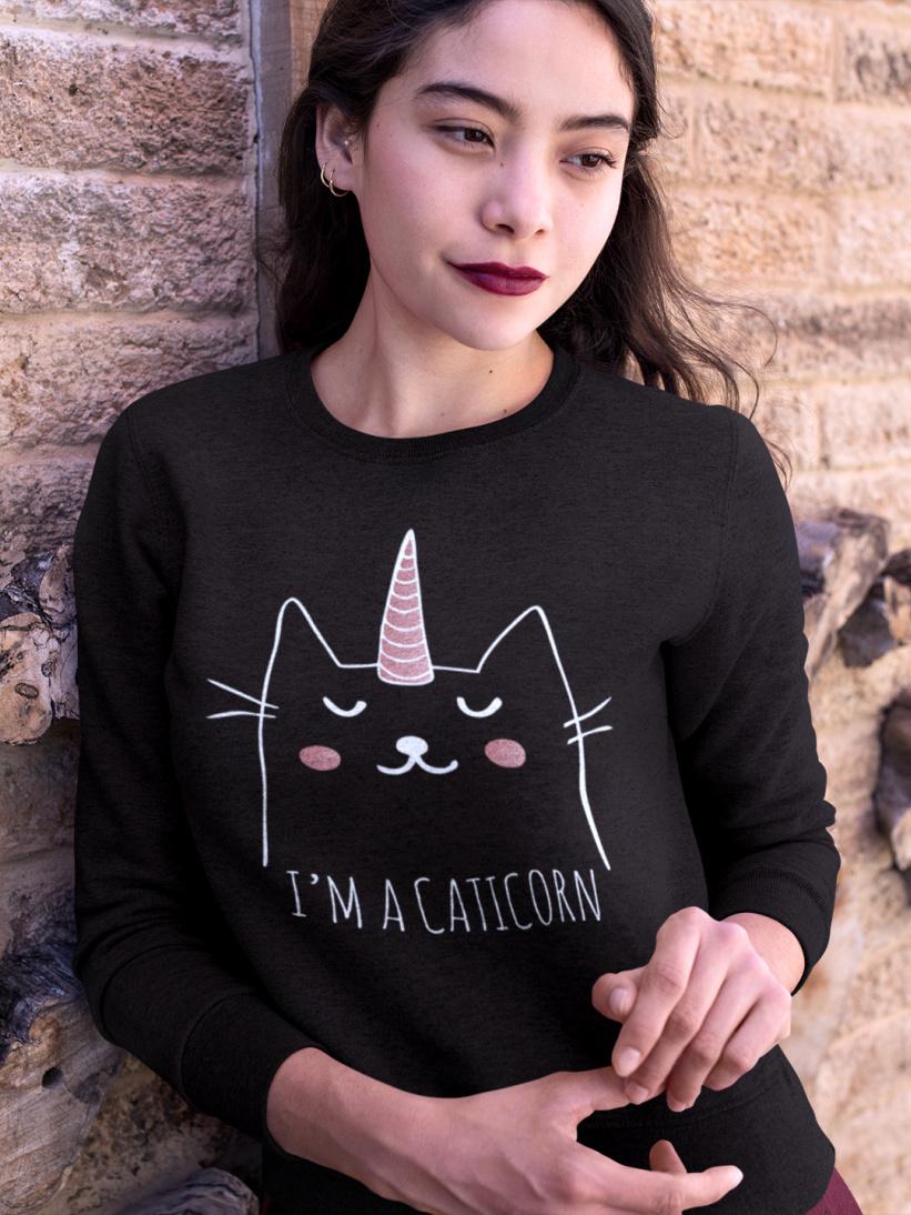 Sweatshirt Pisica Caticorn