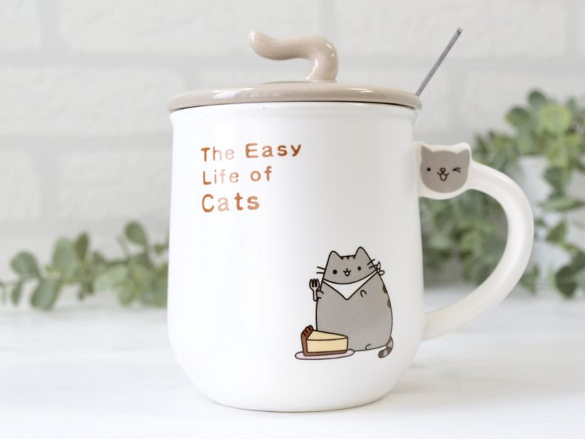 Cana cu Capac The Easy Life Of Cats Cheesecake