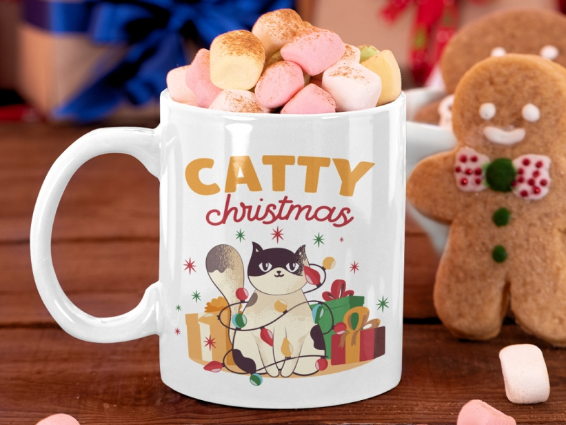 Cana Catty Christmas