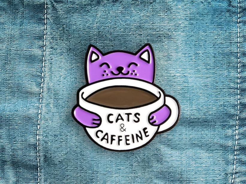 Pin Cats and Caffeine