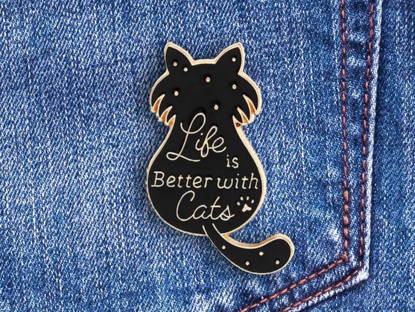 Pin Life is Better with Cats